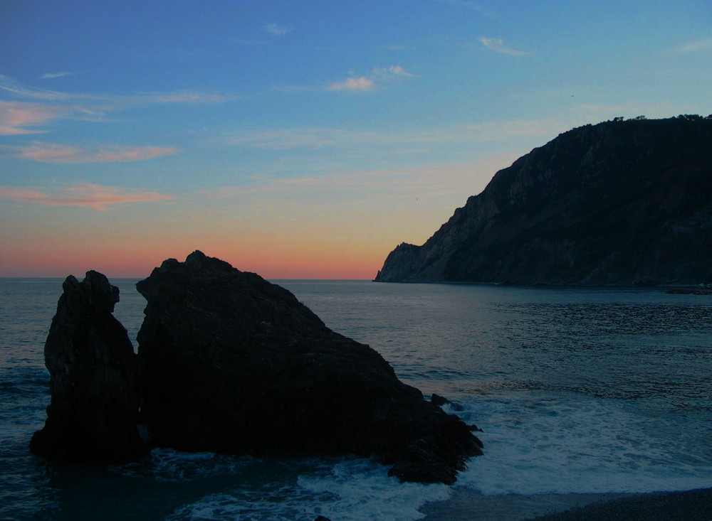 tramonto a Punta Mesco