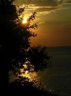 tramonto a San Menaio gargano
