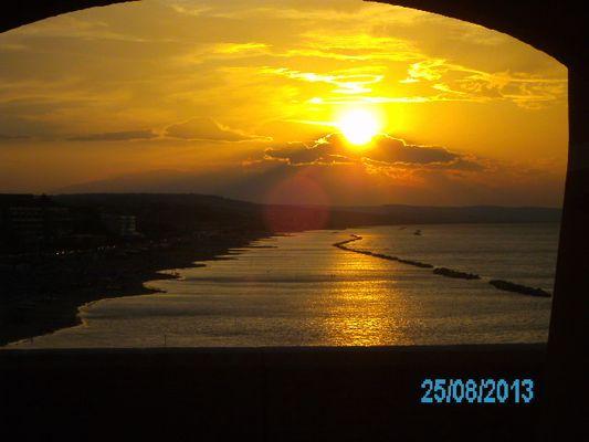 tramonto a termoli