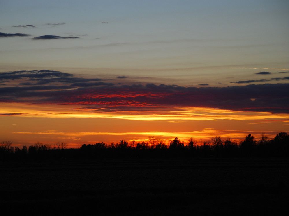 tramonto acceso