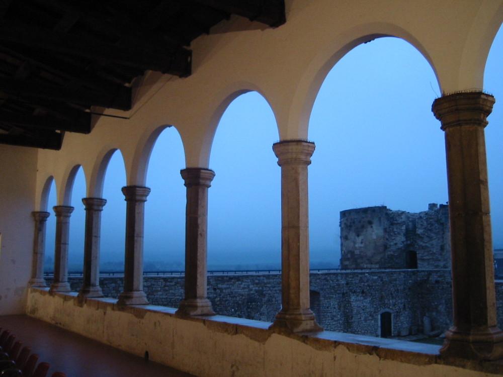 Tramonto al Castello (Venosa - PZ)