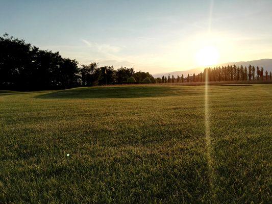 Tramonto al Golf Club