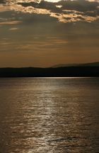 Tramonto al lago