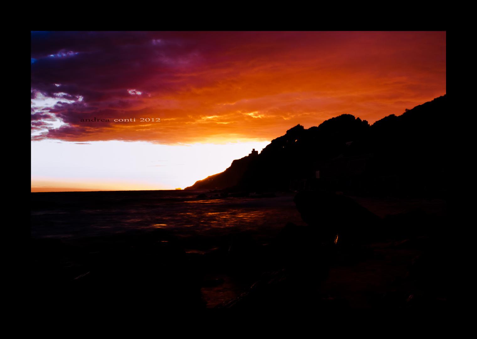 tramonto al rogiolo