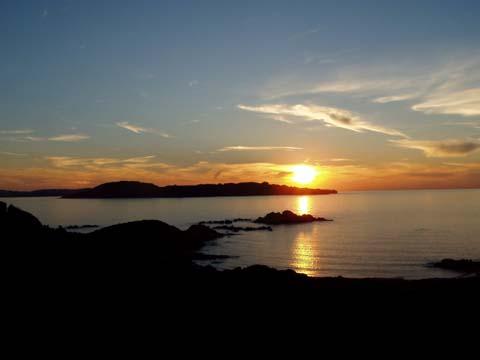 tramonto alla Maddalena