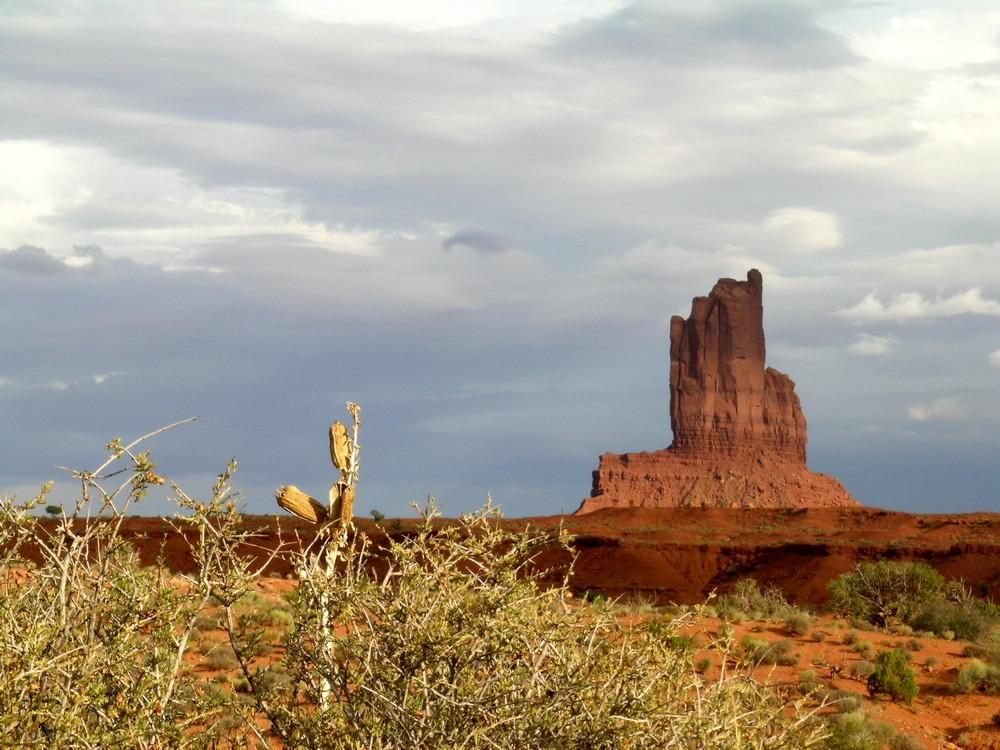 Tramonto alla Monument Valley