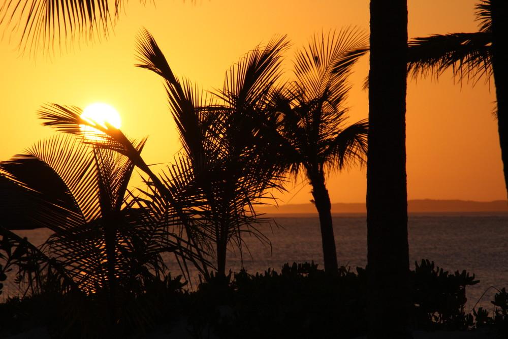 tramonto alle Turks&Caicos