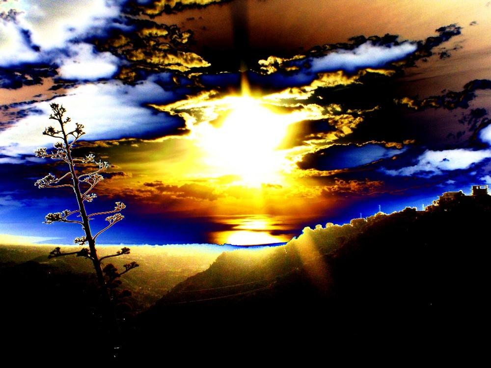 tramonto artistico in reggio calabria