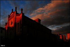 tramonto del gotico