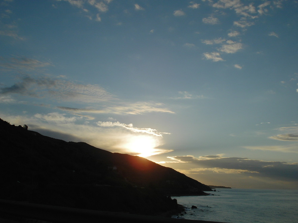 tramonto di tropea