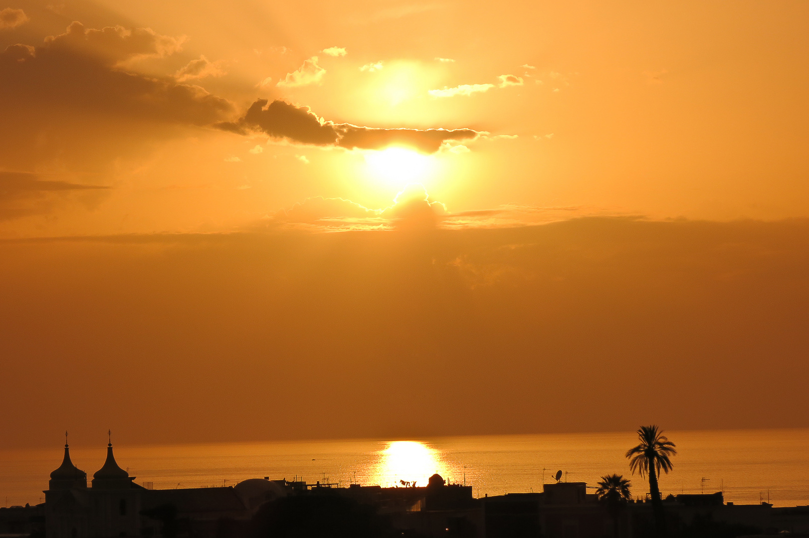 tramonto d´oro