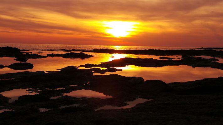 tramonto e colori