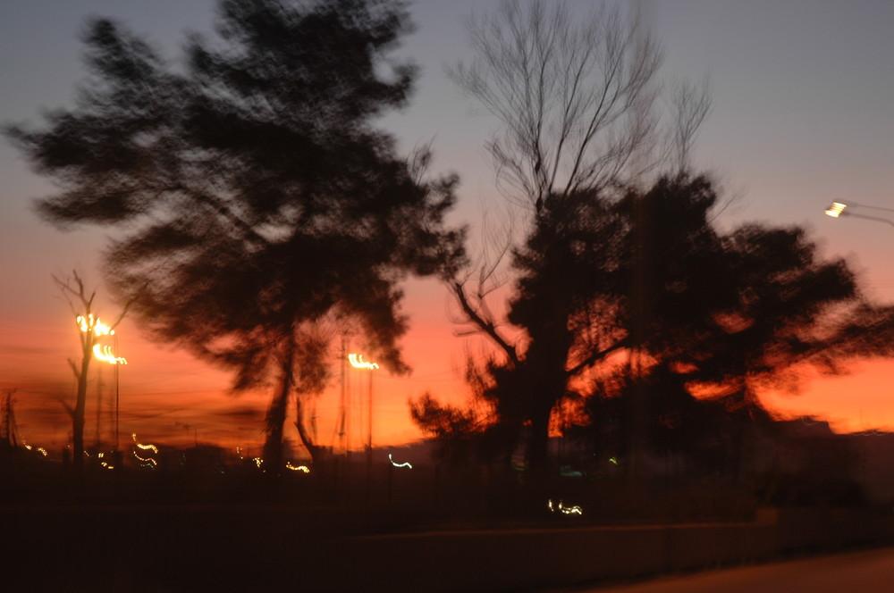 tramonto in dures,albania