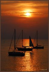 Tramonto in giallo