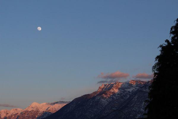 Tramonto in Valsugana