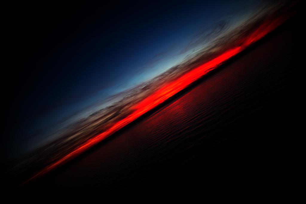 tramonto obliquo