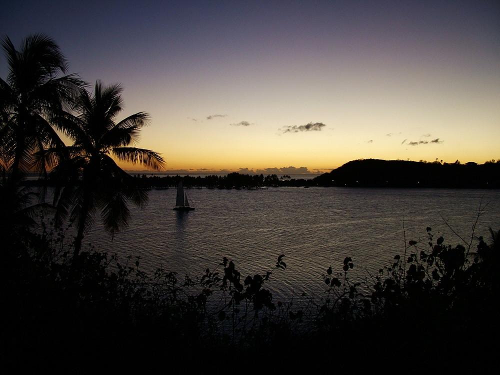 Tramonto Polinesiano