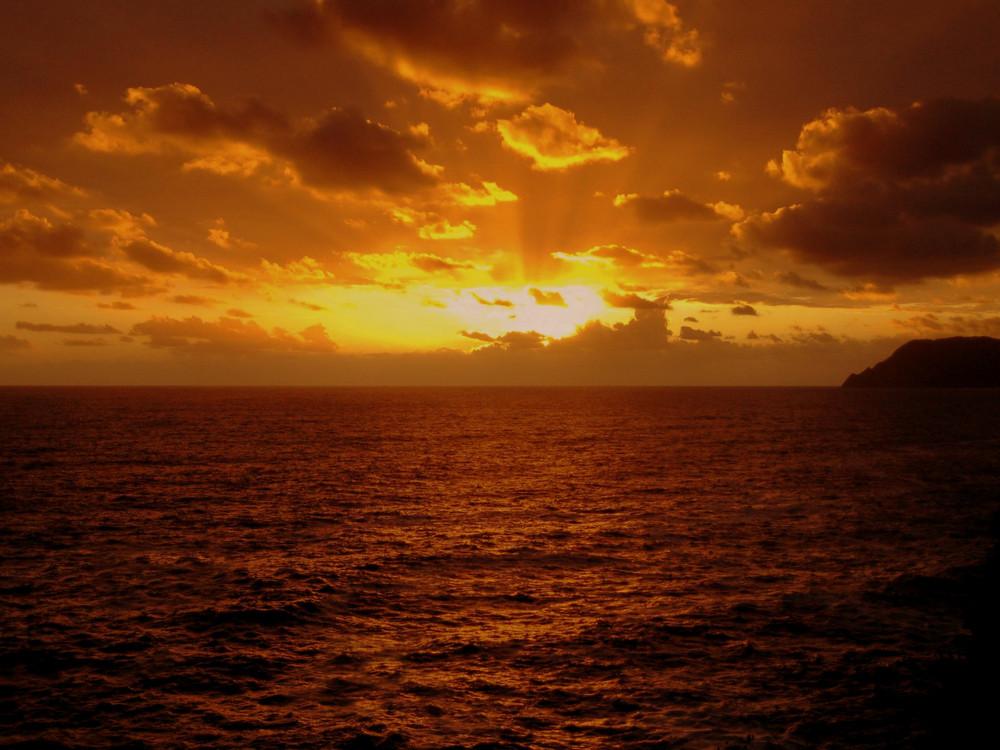 tramonto ri-colorato