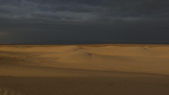 Tramonto sahariano
