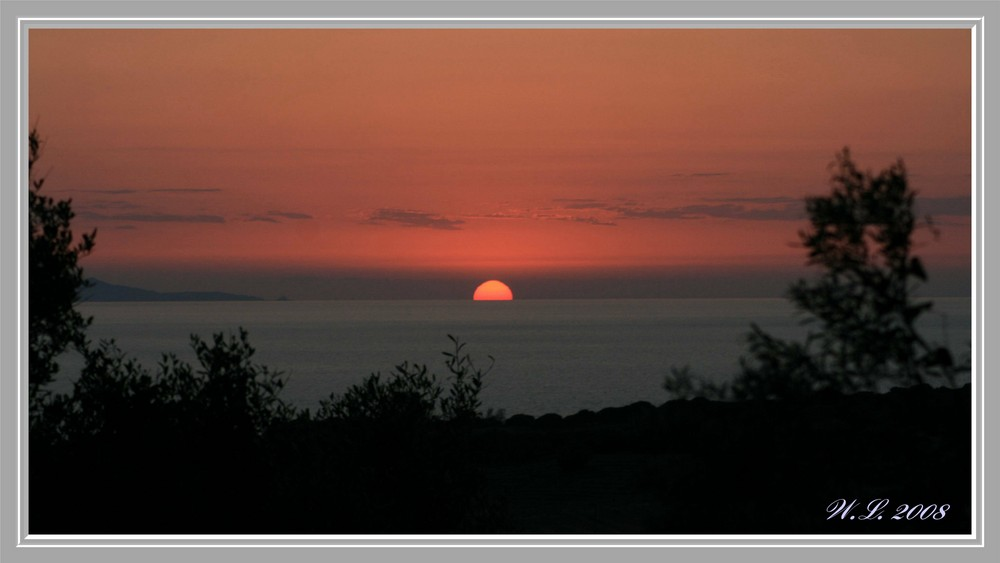 ..tramonto sardo...