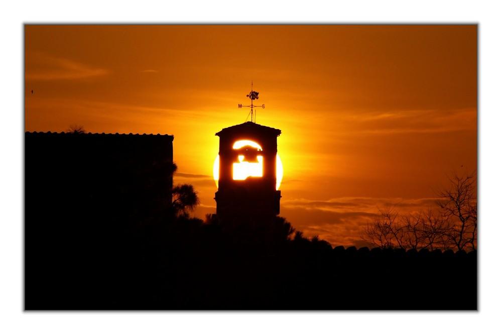 ...tramonto...perfetto...