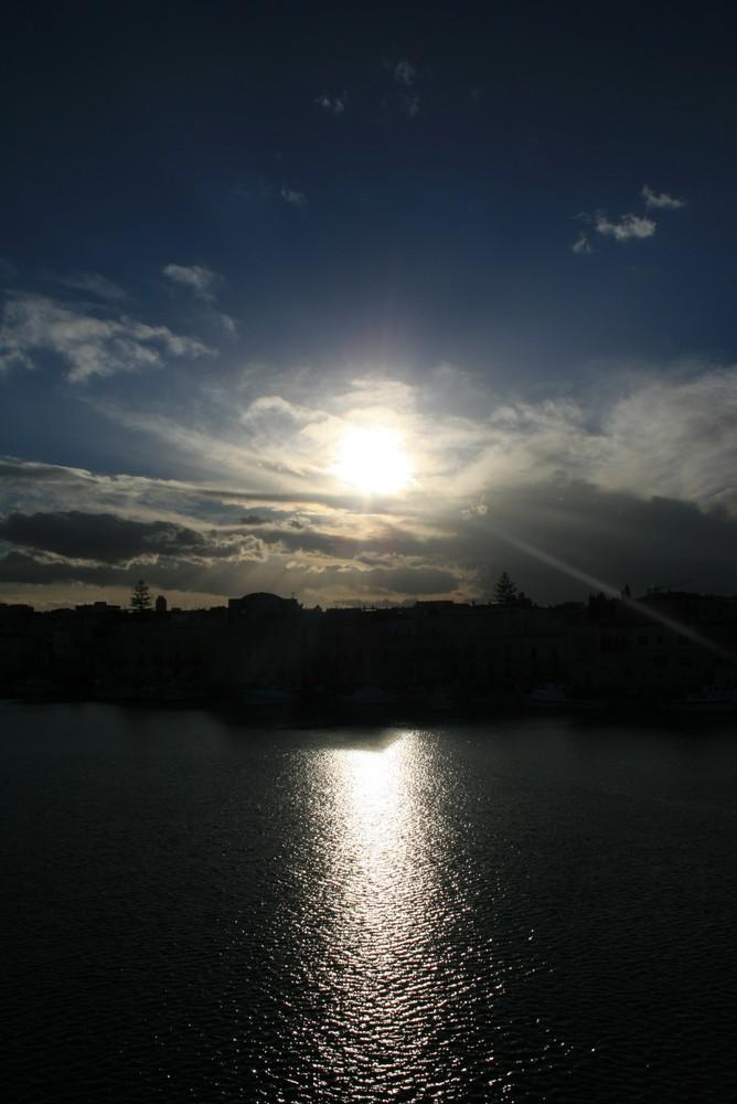 trani al tramonto