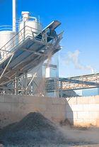 Tranportband auf der Euskirchener Zuckerfabrik