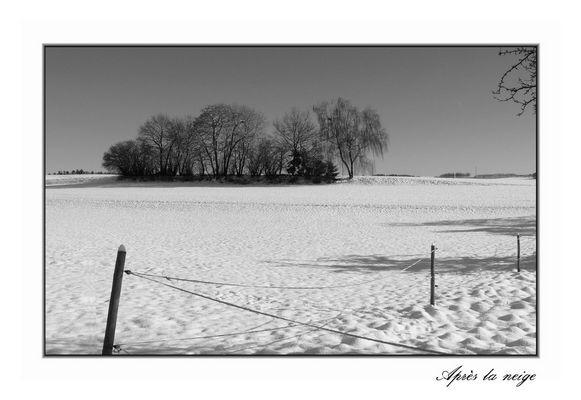 tranquilité hivernale