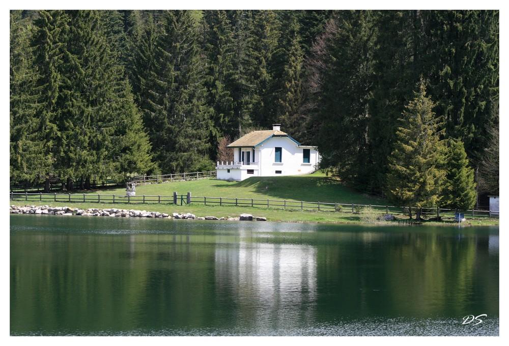 tranquilitée au lac Genin