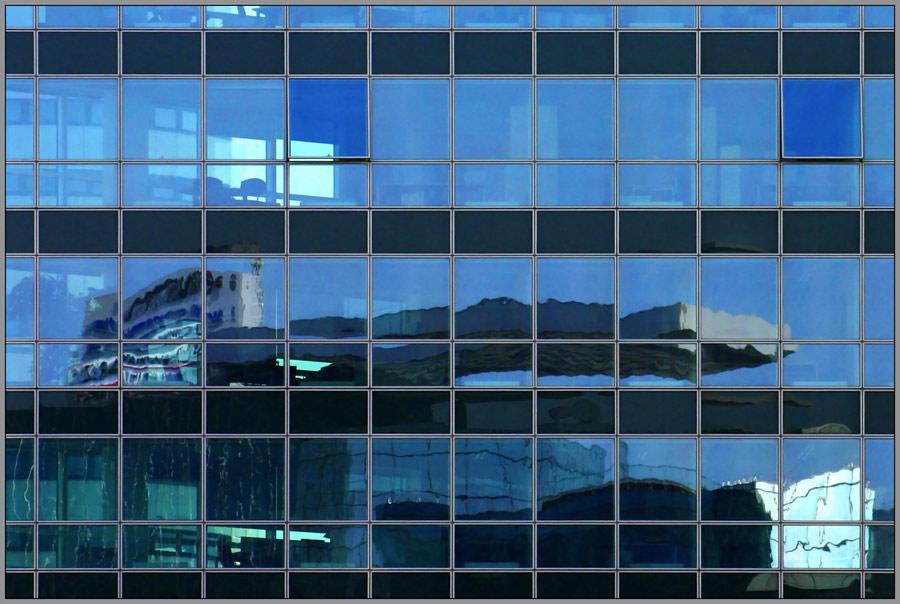 Transdanubische Fassadenspiegelung #9