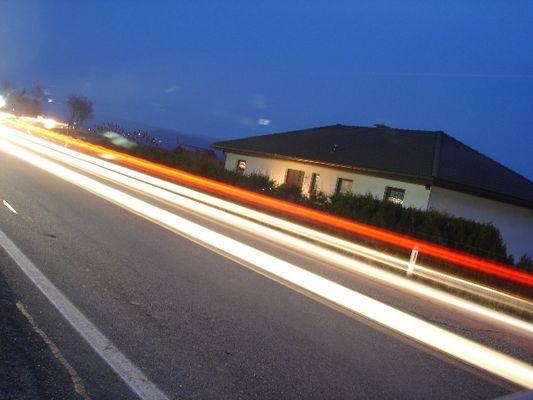 Transit durch unsere Dörfer