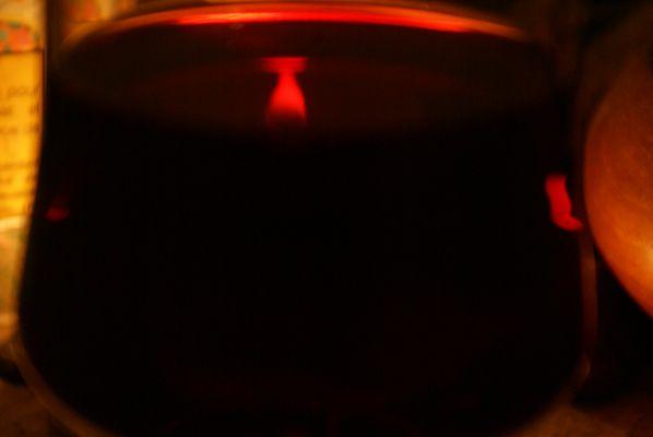 transparence du vin