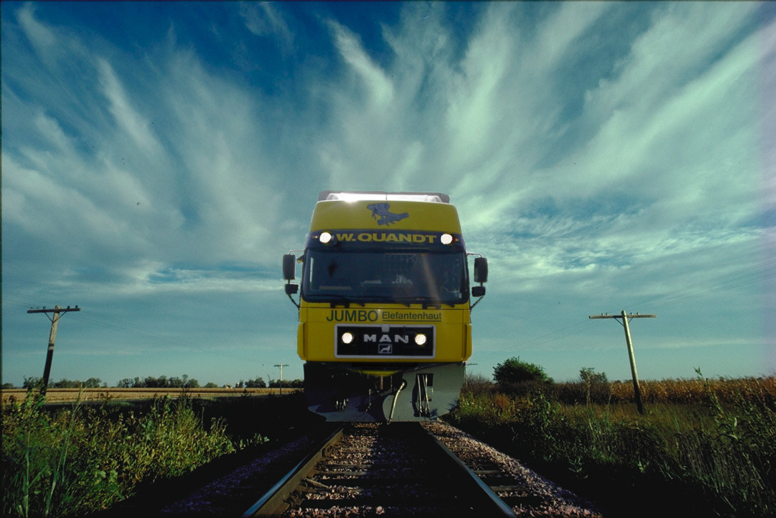 Transport auf Schienen
