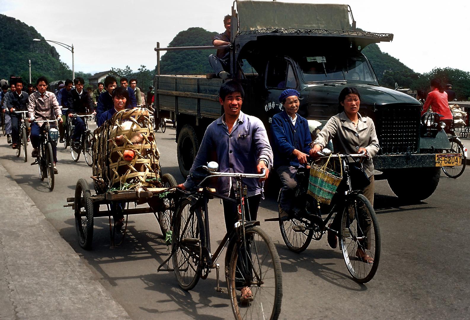 Transporte in Kunming