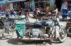 Transporter auf dem Marktplatz von Demre