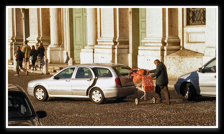 Transportlösung auf italienisch!