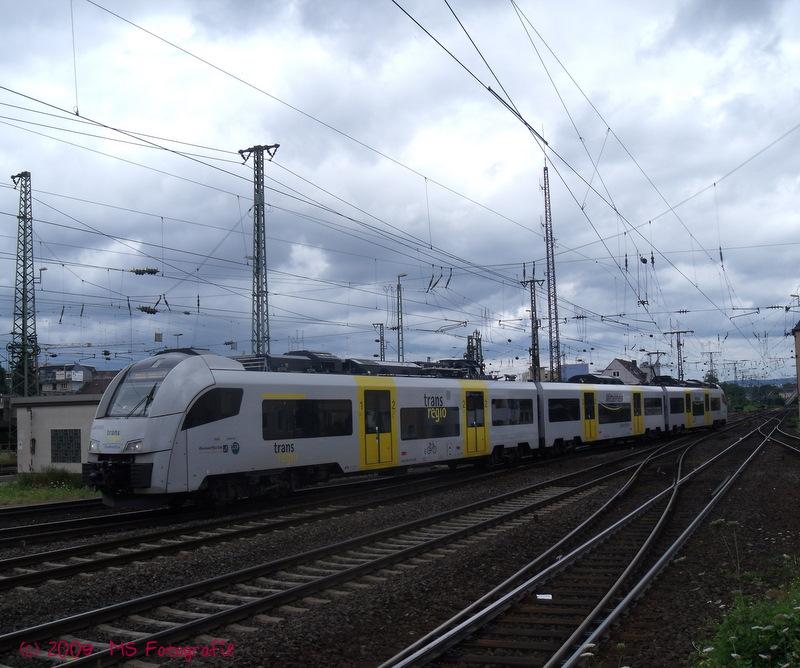 TransRegio MRB 26 Einfahrt Koblenz Hbf