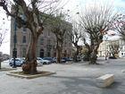 Trapani-In der Nähe der Hafen-Frühjahr in Trapani