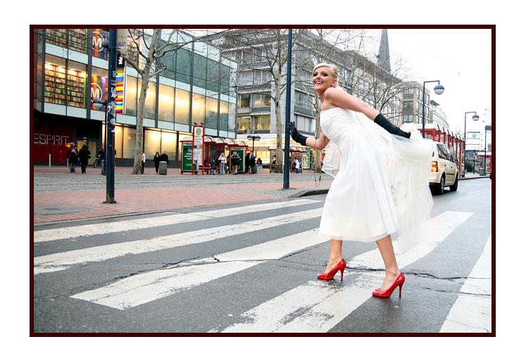 Trash your bridal dress Citylife