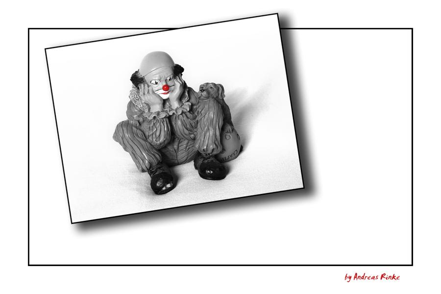 Trauer-Clown