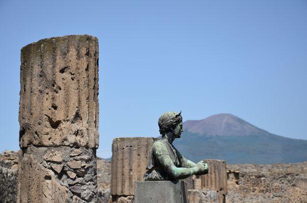 Trauer in Pompeji