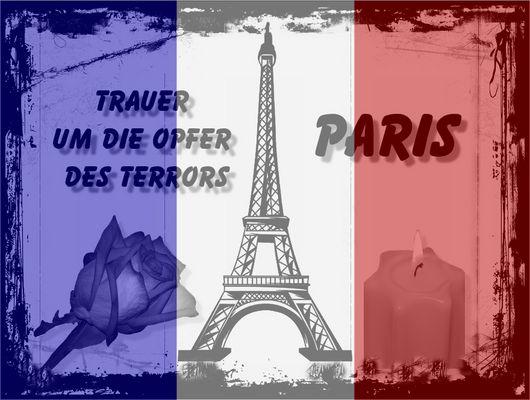 Trauer um Paris 13.11.2015