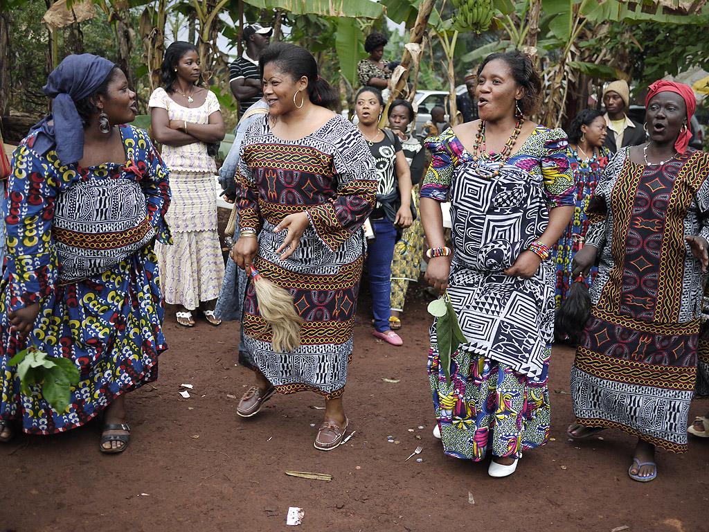 Trauerfeier in Bamenda