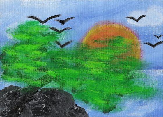 Traum in Grün