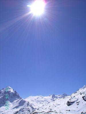 Traum- Skitag im Engadin