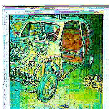 """Traumauto Fiat 500 cabrio mit anderen """"AUGEN"""" gesehen"""