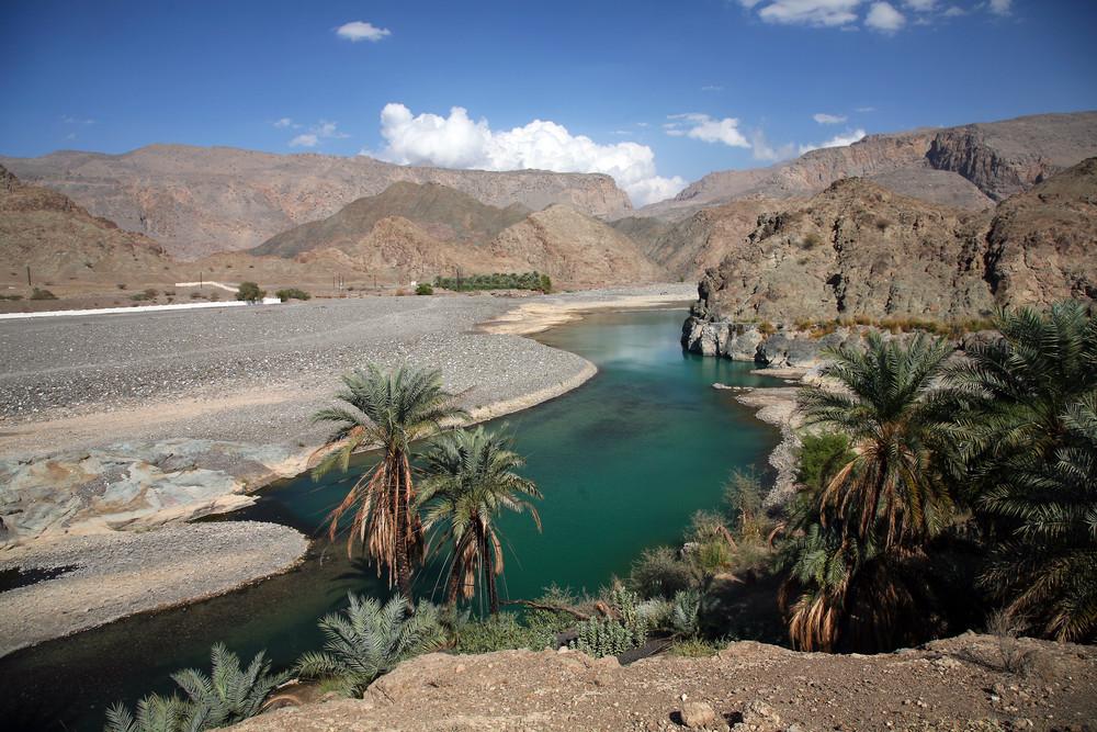 Traumhafte Oase im Oman