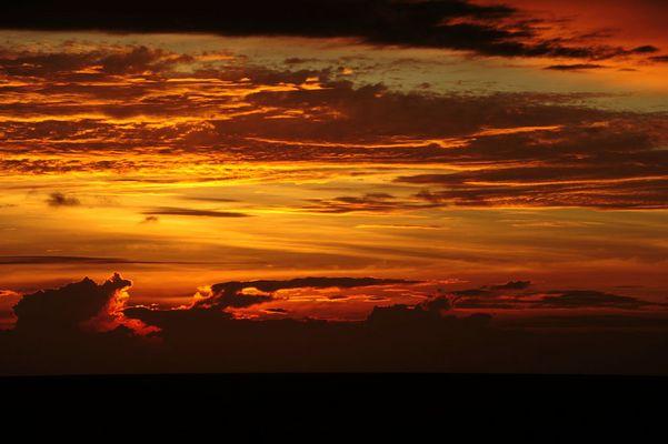 traumhafte Sonnenuntergänge ...