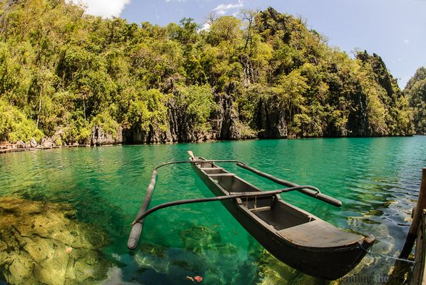 traumhafter See in Coron/Philippinen