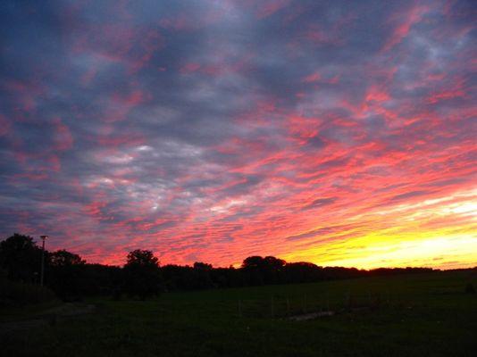 Traumhafter Sonnenuntergang!!